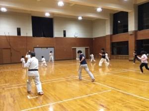 大田区 空手 基本練習
