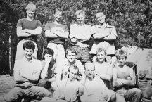 Uczestnicy zgrupowania Grabina jak na poprzednim zdjęciu (sierpień 1988 roku)