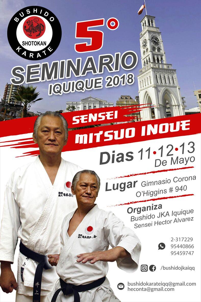 5to Seminario JKA Sensei Mitsuo Inoue 2018.