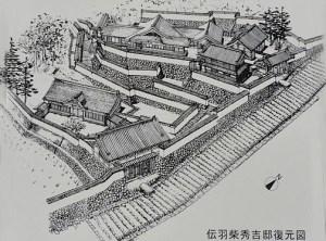 maqueta-azuchi-castle