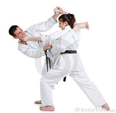 como bajar de peso para los hombres karate
