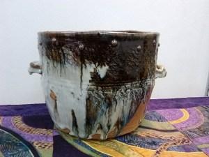 Chosen Karatsu bucket. (Oke, 桶)