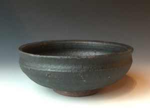Type 1 semi matte black dish.