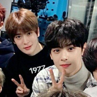 cha eunwoo and jaehyun