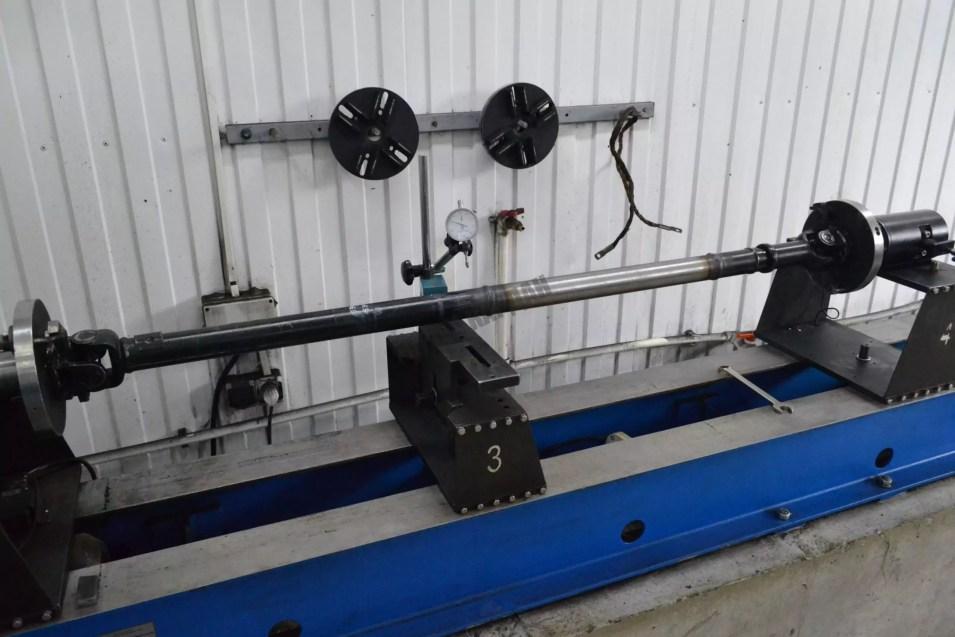 Удлинение карданного вала болотохода УАЗ-649