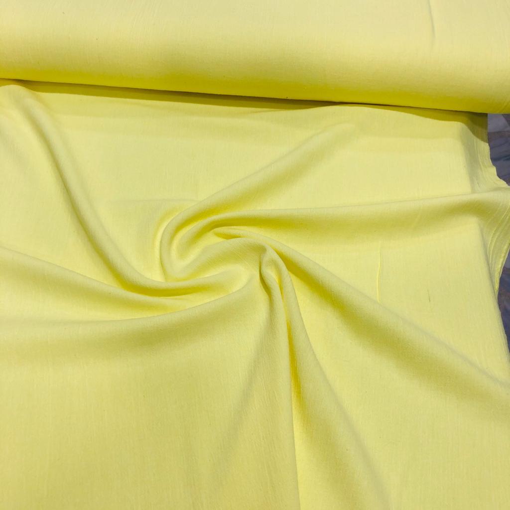 Şile Bezi Kumaş Limon Sarısı