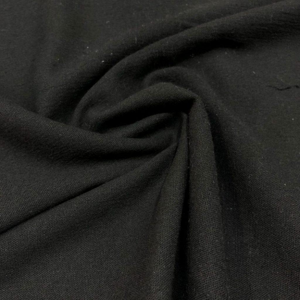Şile Bezi Kumaş Siyah