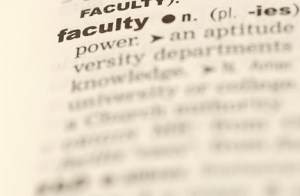 Leadership in academia includes faculty leadership, staff leadership, administrative leadership