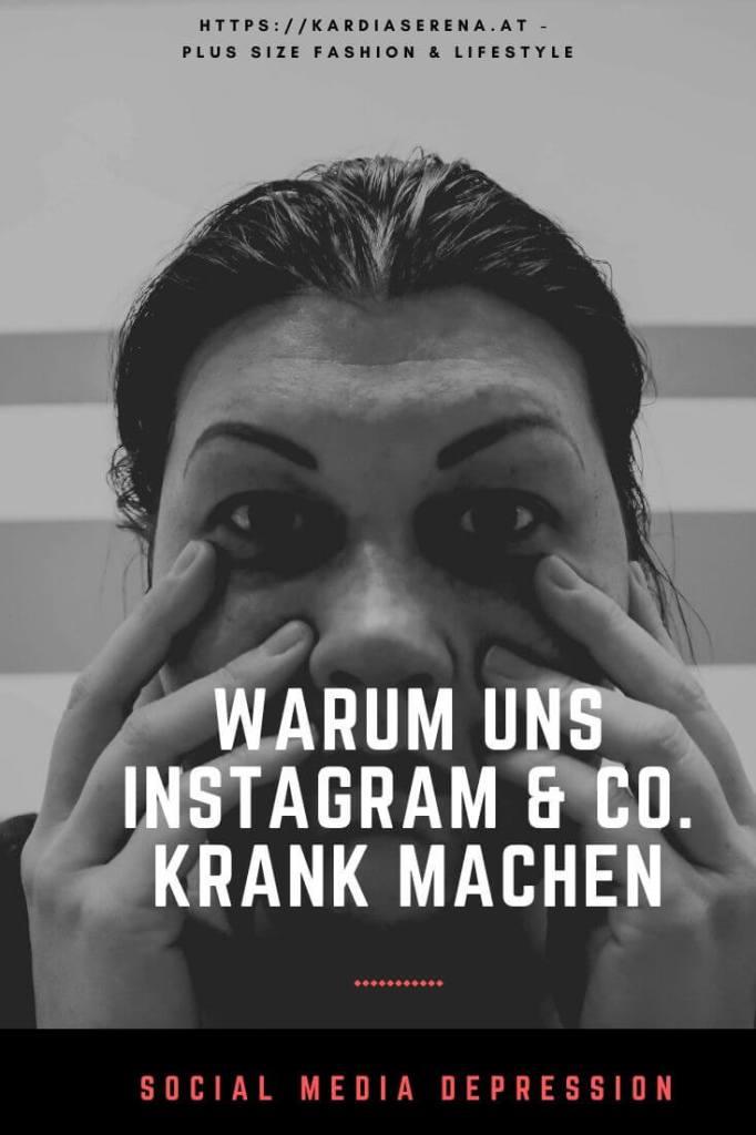 social media depression. warum instagram & co. uns krank machen realtalk kardiaserena pinterest