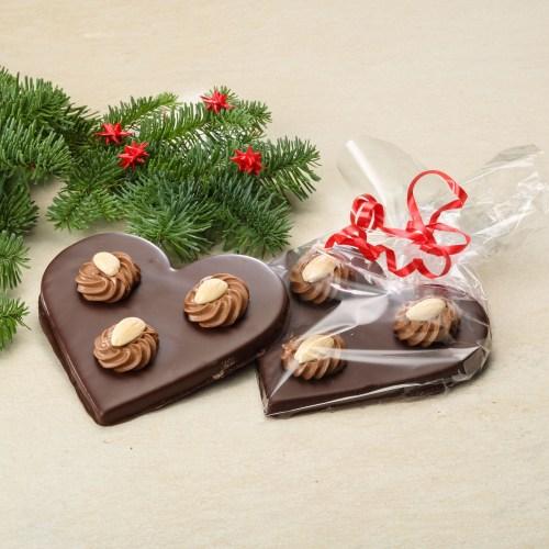 Julehjerte chokolade