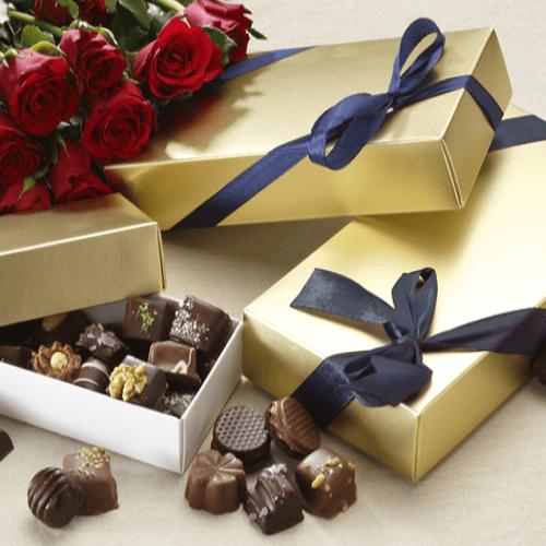 Chokolade gaveæske