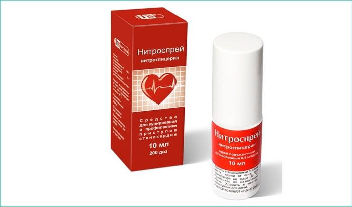 Спрей «Нитроглицерин»