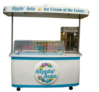 dots ice cream cart
