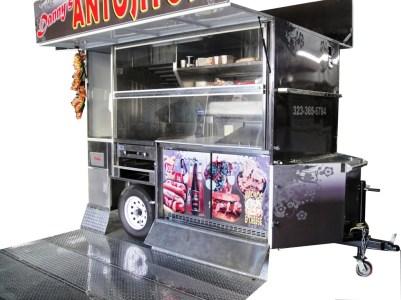 Dannys Antojitos Grilling Cart