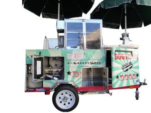 Mobile Hot Dogs Cart