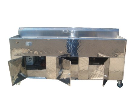Portable Sink Front View