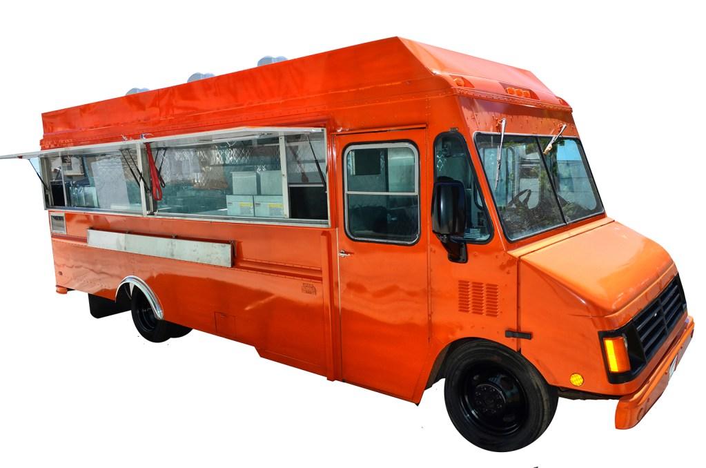 Open food truck