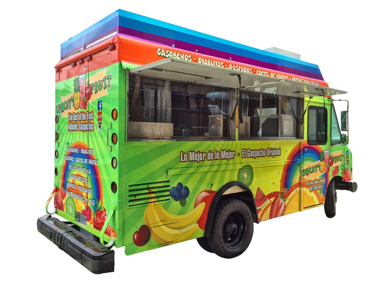 snow cone food truck