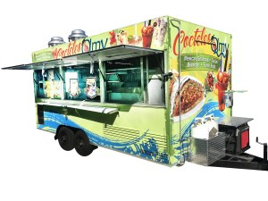 Food and shaved ice trailer