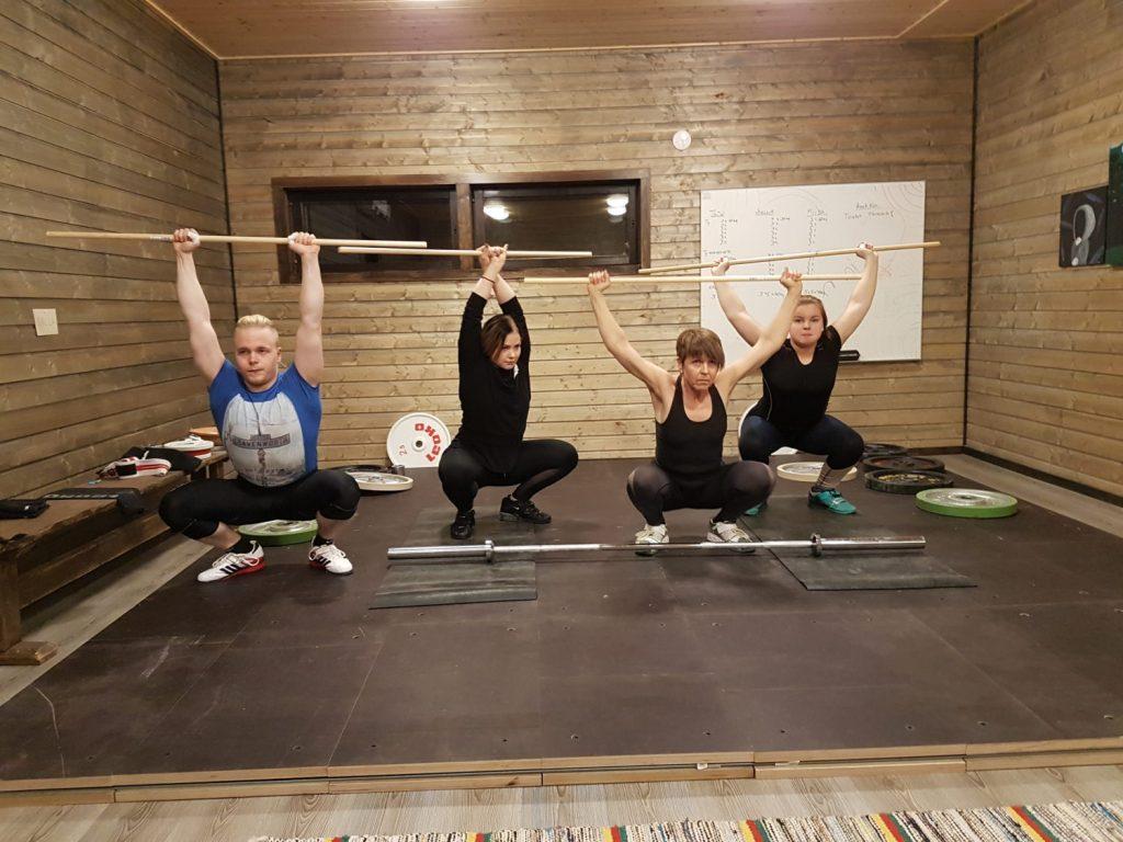 gym ruokolahti 健身房和举重