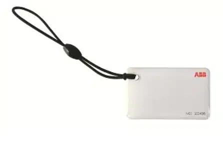 ABB Terra AC RFID tunnistekortti logolla tarvike