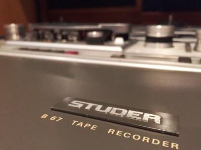 Studer B 67 Tape Recorder