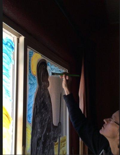 karen-painting