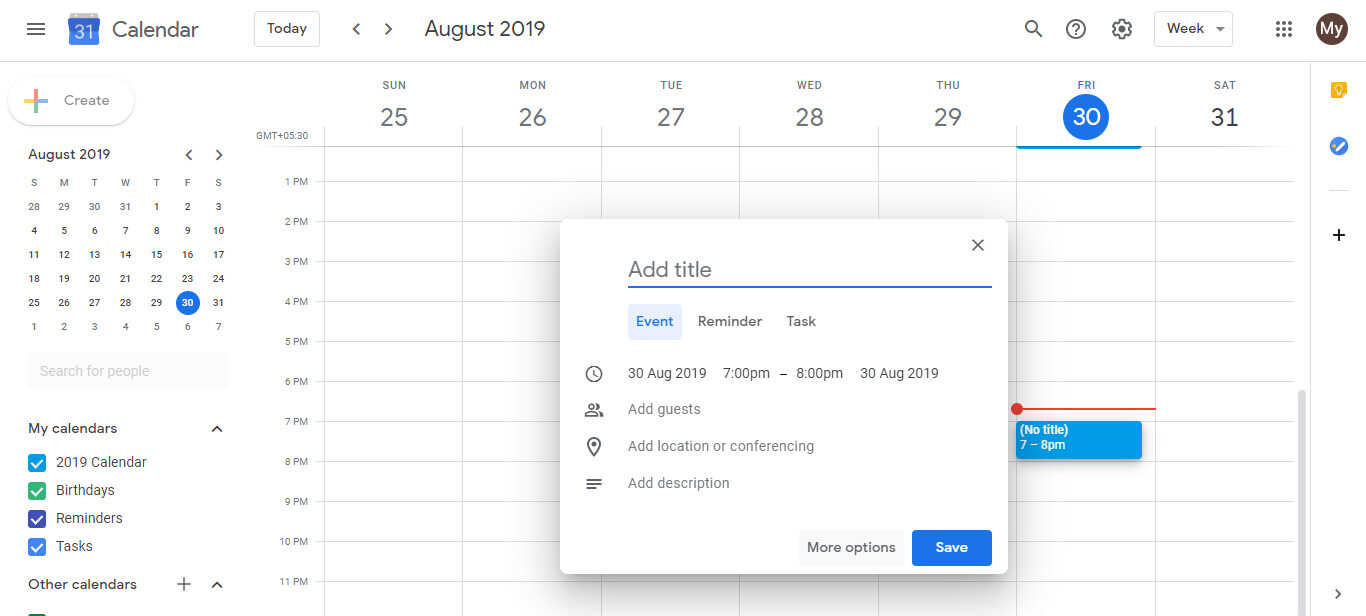 How To Receive Birthday Reminders For Google Contacts From Google Calendar Google Calendar Handbook