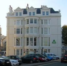 Early seaside accommodation in the late Georgian period, Brighton.