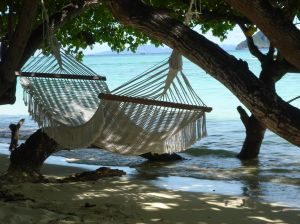 hammock by water