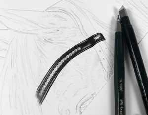 Schritte Erstellung Bleistift