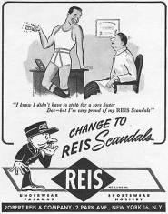 Homoerotic Reis Scandals vintage mens underwear ad4