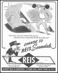 Homoerotic Reis Scandals vintage mens underwear ad5