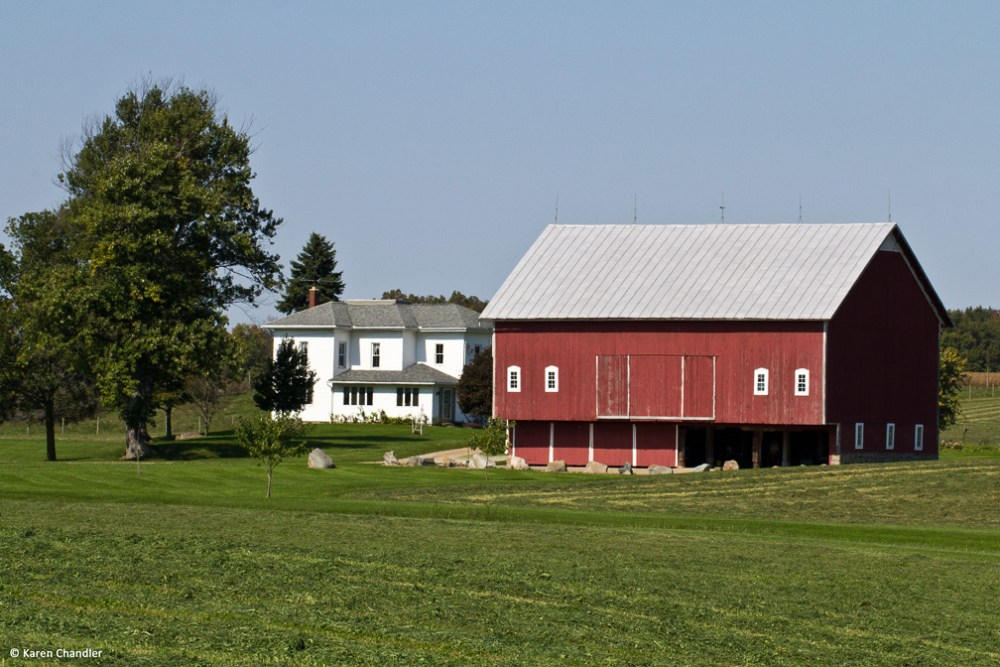 Ohio Farms: Antique Barns and Landscapes (3/6)