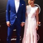 Basketball Player JJ Reddick and Chelsea  at the 2015 ESPYs Awards