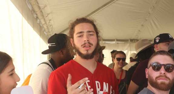 Post Malone at made in america 2015