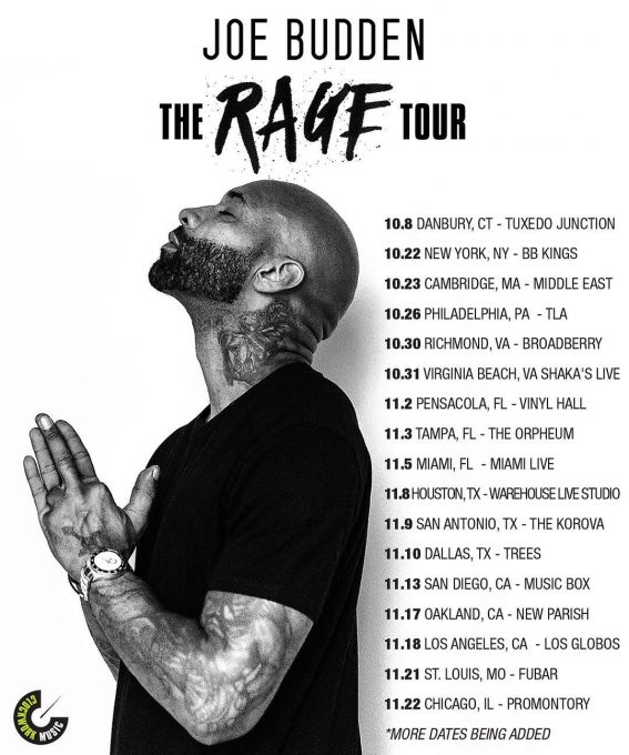 joe budden the rage tour