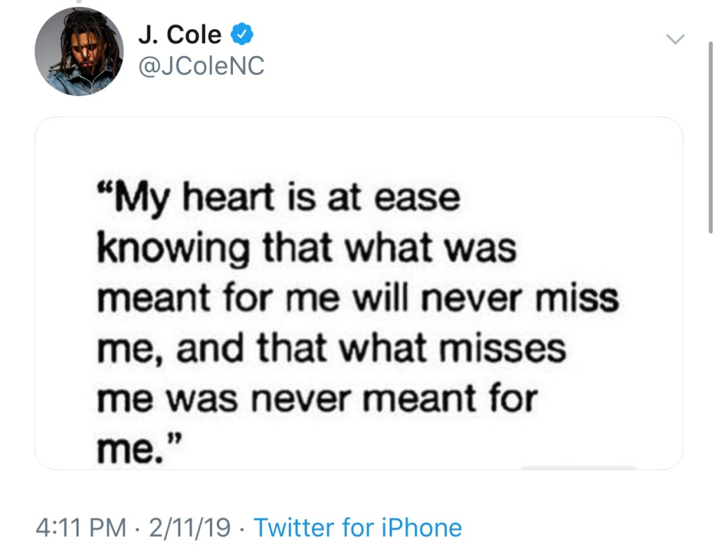"""J.Cole Shares His Thoughts On The Grammy Awards – """"No Award Show Could Ever Get It All The Way Right"""""""