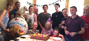 Virginia Conrad 90th Birthday