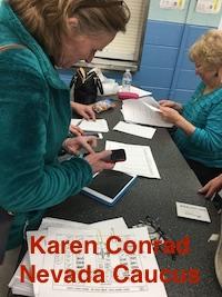 Karen Conrad Reno Caucus