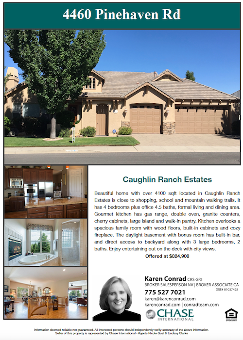 Karen Conrad Reno Homes For Sale
