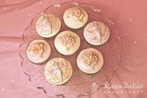Cupcake Top - Rose Mould
