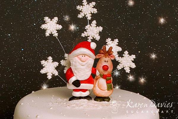 Santa & Rudolph Mould