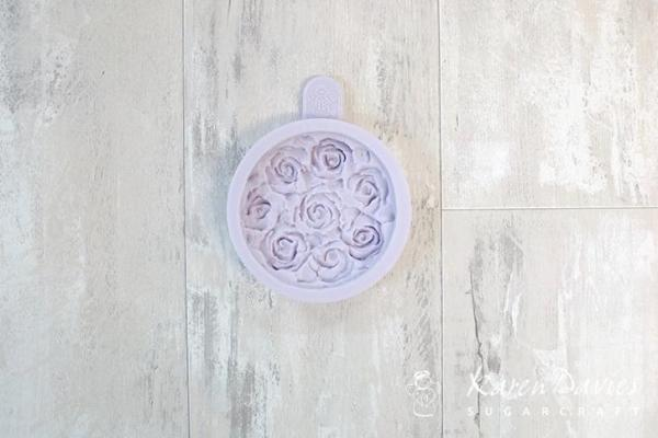 Cupcake Top - Piped Roses Mould
