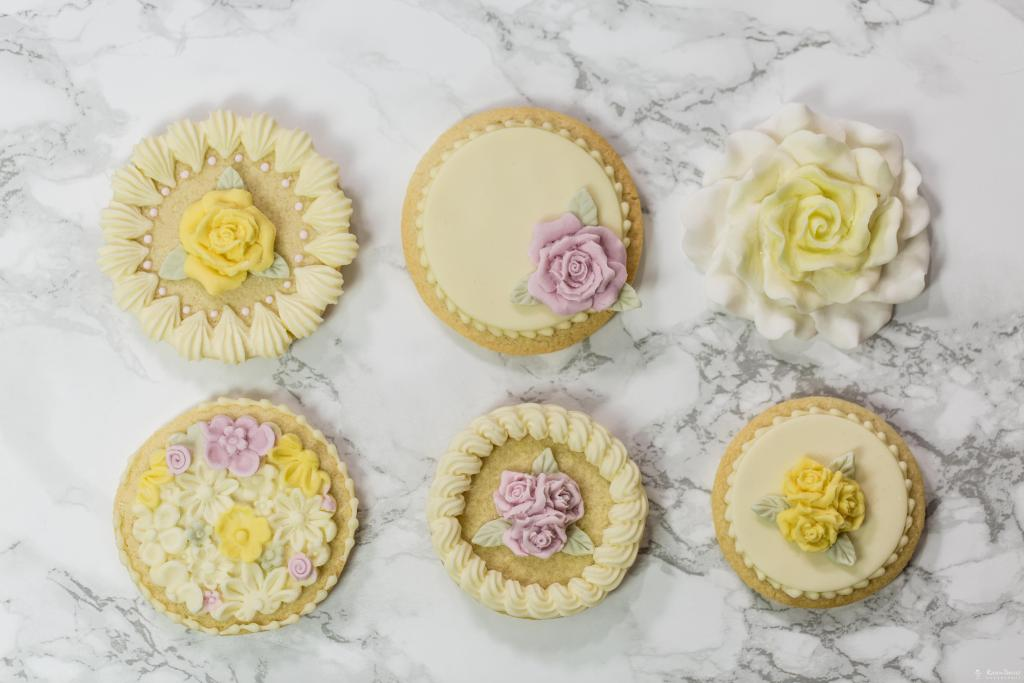 Cupcake Top - Three Roses Mould