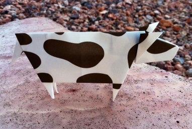 Folded Cow