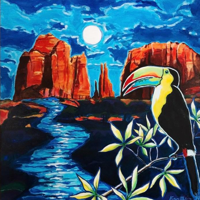 Sedona Moon by Karen Elaine