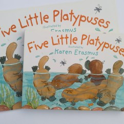 Five Little Platypuses published by Hachette Children's Books