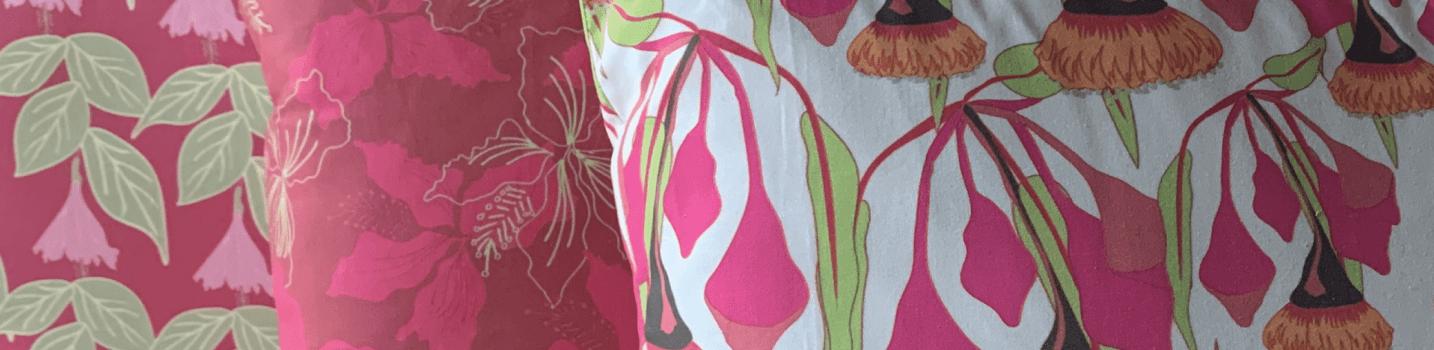 My pattern designs on cushions