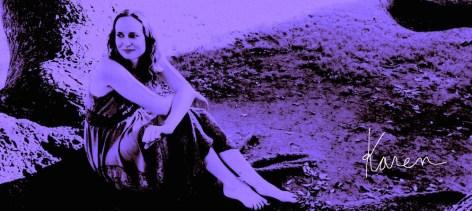 Artistic Purple image of Karen